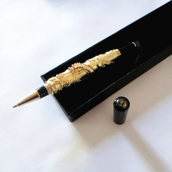 HOT unique 3D PEN personalized gifts luxury gifts with gift box Luxury gold color quality pen 80g/pc nice gift for bossHOT unique 3D PEN personalized gifts luxury gifts with gift box Luxury gold color quality pen 80g/pc nice gift for boss