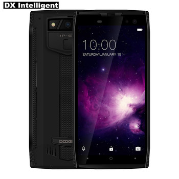DOOGEE S50 Helio P23 IP68 Waterproof Mobile Phone MTK6763T Octa Core 5.7 18:9 Full DisPlay Android 7.1 6GB+64GB 16.0MP 4 Camera telephony