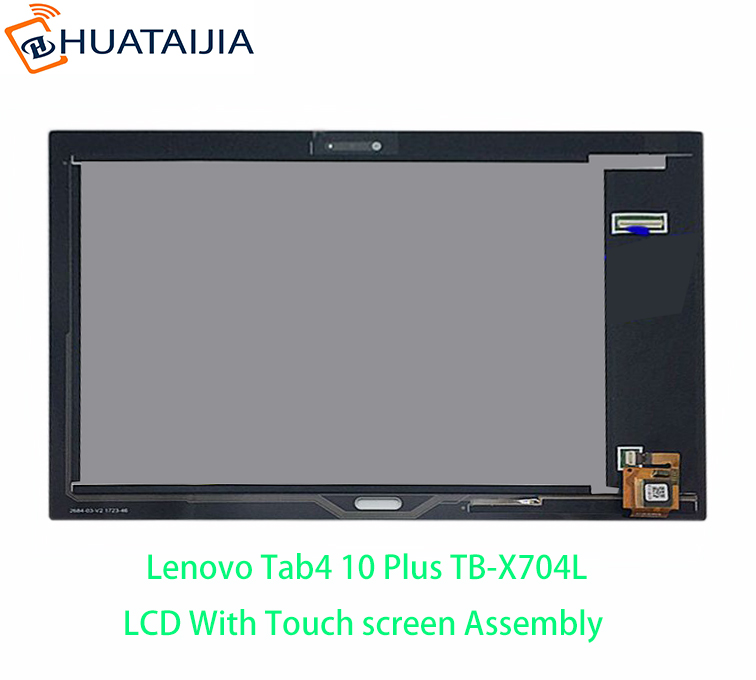 10.1 For LENOVO TAB 4 10 PLUS TB-X704F TB-X704N TB X704F LCD Display Matrix with Touch Screen Digitizer Sensor Assembly 10 1inch lcd with touch panel 1920x1200 for lenovo tab 4 tb x704l lcd display touch screen digitizer assembly
