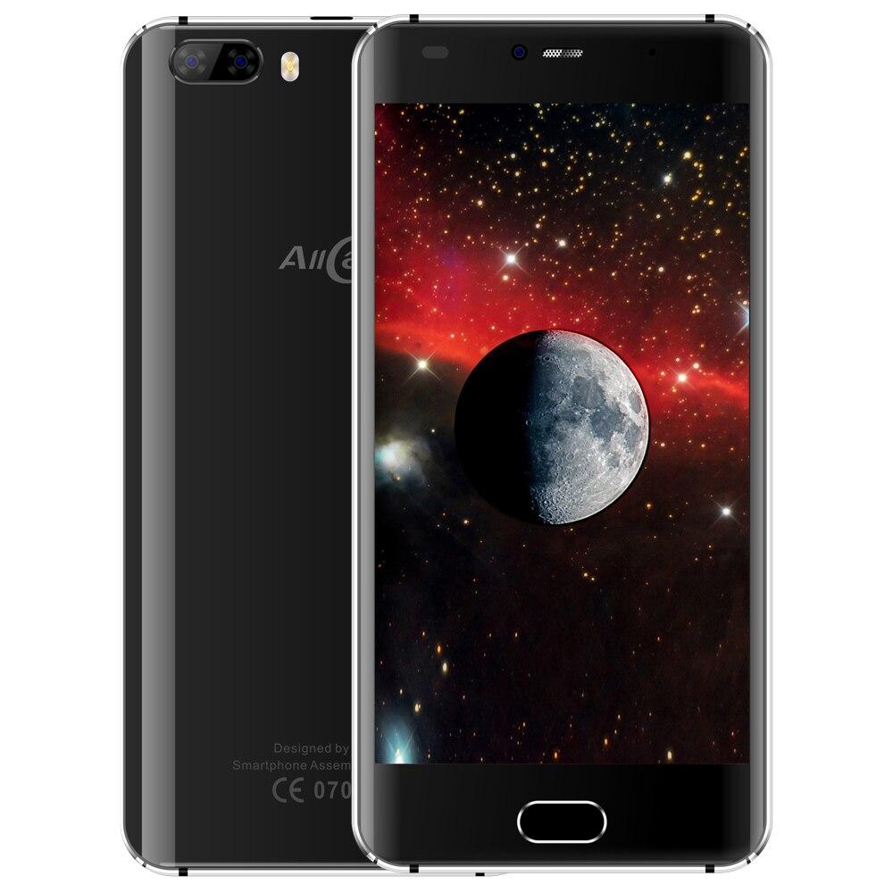 D'origine Allcall Rio 3G 5.0 Pouce Smartphone Android 7.0 MTK6580A Quad Core 1.3 GHz Mobile 1 GB + 16 GB GPS Double Arrière Caméras Téléphones