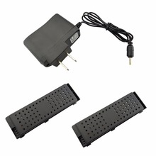 2PCS 3 7V 500mah Lithium font b Battery b font with American Charger for H47 E56