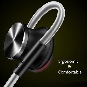 Image 4 - Металлические Магнитные наушники вкладыши FONGE W3, стереонаушники с супер басами и микрофоном для воспроизведения музыки на смартфоне