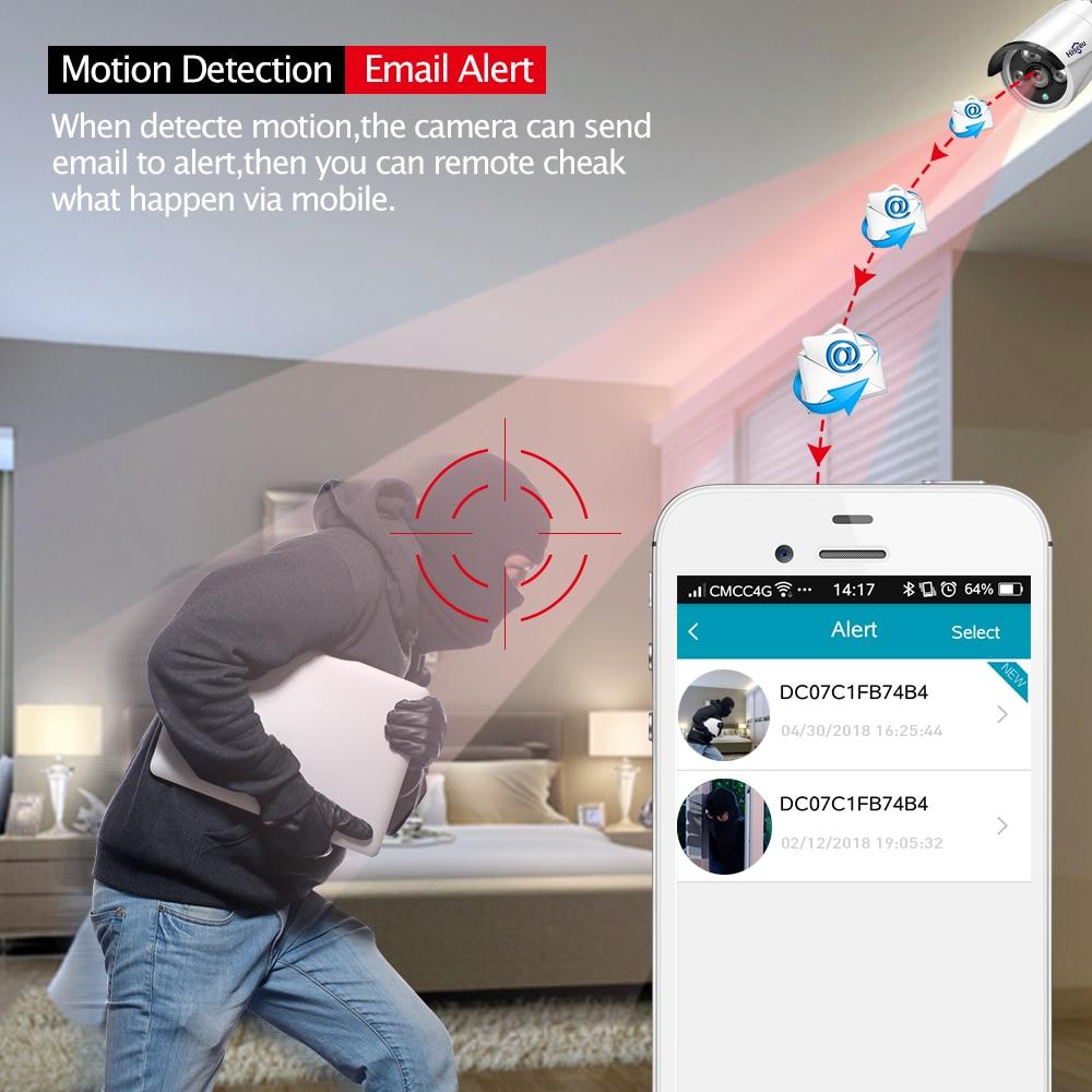 Hiseeu 960P NVR 4PCS 960P Bežični sigurnosni CCTV sustav Vanjska IP - Sigurnost i zaštita - Foto 4