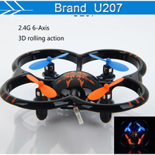 2016 Hot Sell Mini Drone 2.4G 4CH Remote Control Quadcopter & RC helicopters Radio Control Aircraft RTF Drone Free Shipping