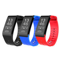 ECG PPG Medical Grade Blood Pressure Heart Rate Monitoring Smart Band Health Passometer Smart Wristband Pulsometro
