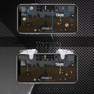 Image 5 - Yoteen металлическая кнопка пуска для PUBG стрельбы, игры L1 R1, стрельба, джойстик, контроллер