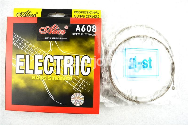 Cuerdas para bajo eléctrico Alice A608-M Cuerdas hexagonales de 4 - Instrumentos musicales - foto 3
