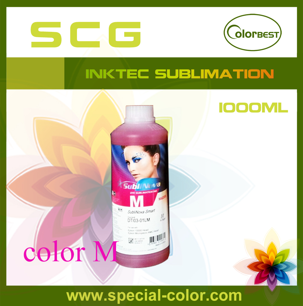 ФОТО Inktec SubliNova Smart Transfering Ink for Epson DX5 Bottle Ink from Korea