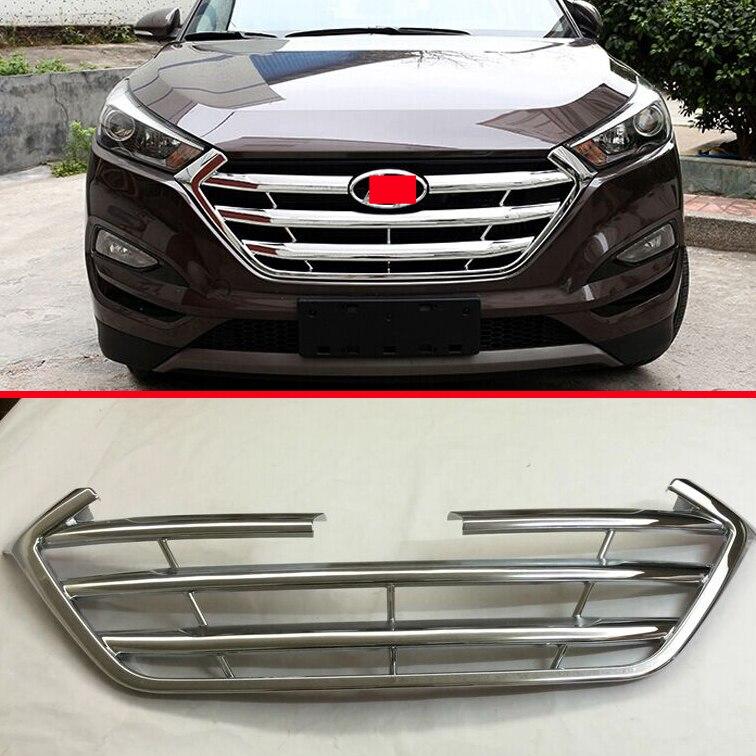 Prix pour ABS Chrome Grille De Protection Avant Garniture Pour Hyundai Tucson 2016 2017