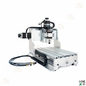Image 3 - حار بيع البسيطة 4 محور الخشب cnc راوتر CNC 3020 300w راوتر cnc آلة طحن مع MACH3 saoftware