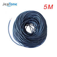 JeaTone Video Verlängern Kabel 4x0,12mm 5 meter Verzinnt kupfer Draht Kostenloser versand