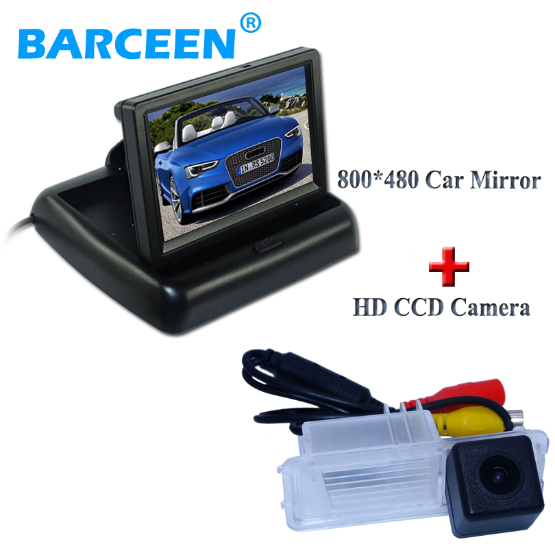 4.3 800*480 for all car display monitor withcar rear view camera suitable for Volkswagen GOLF 6/Magotan