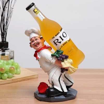 Figura creativo chef Arredamento Per La Casa soggiorno TV cabinet decorazione statue Casa decorazione di cerimonia nuziale muore