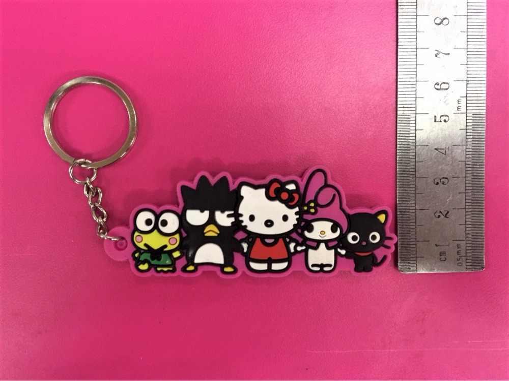 G537 Olá Kitty Melodia Original Japonês anime figura borracha de Silicone cheiro doce encantos do telefone móvel/corrente chave/cinta