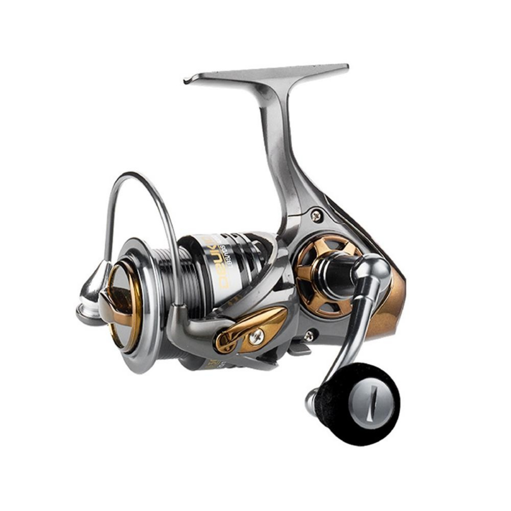 Rotating Fishing Reel 7.1:1 Spinning Reel Upgraded Lightweight Fishing Baitcasting Reel 2000/3000/5000 Fishing Reel YL-65