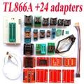 TL866A programador + 24 adaptadores de Alta velocidade TL866 AVR PIC Bios 51 MCU EPROM Flash manual do Programador Russo Inglês