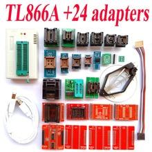 TL866A программист 24 адаптеры Высокая скорость TL866 AVR PIC Bios 51 MCU Flash EPROM Программист Русский инструкция На Английском