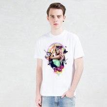 Barbie doll T-shirts printed unicorn t shirt men Funny Short Sleeve novel flower Tshirts 2016 New Fashion Summer Style