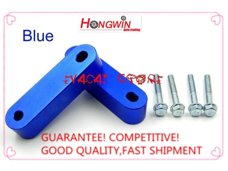 2 Stks Nieuwe Blauwe Aluminium Hood Spacer Risers Voor Honda 1988-2000 Civic 92-95eg/96-00ek Een Brede Selectie Kleuren En Motieven
