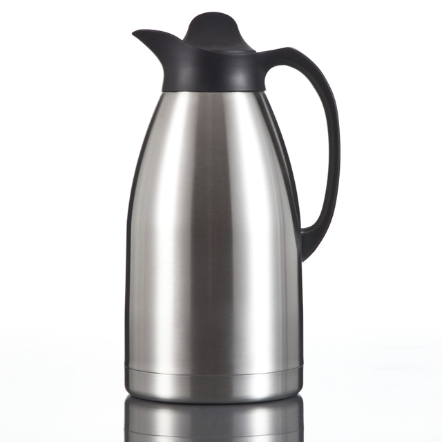 New 3 Liter Large Capacity Thermos Teapot Flask Coffee Pot Vacuum Jug Business Home Use