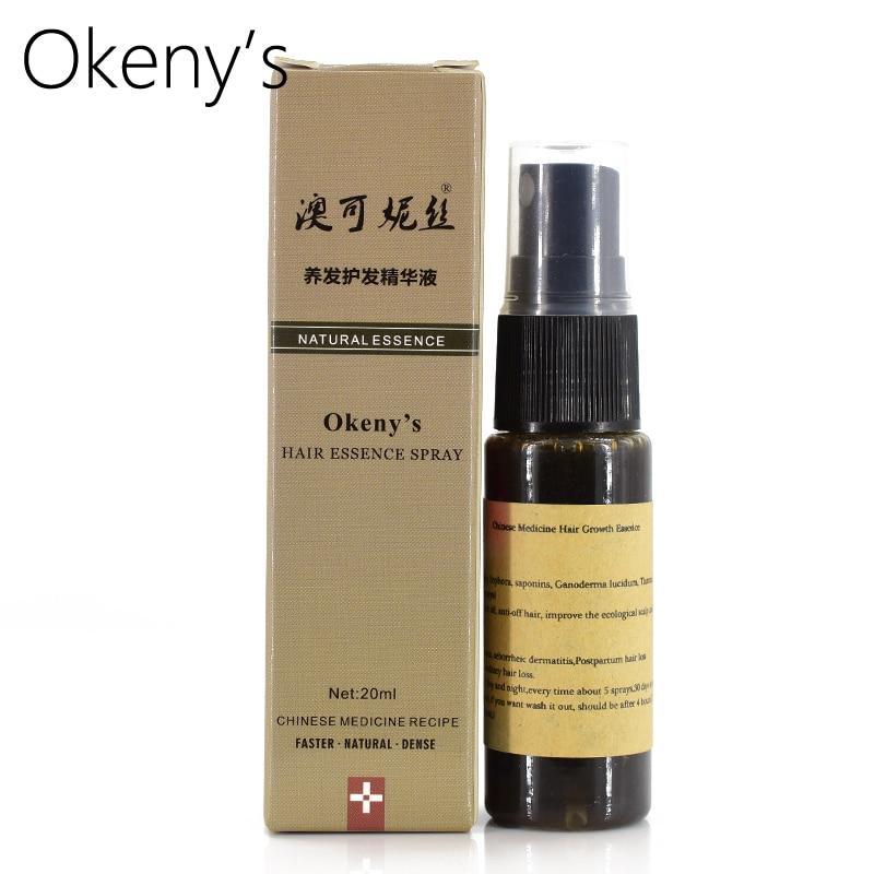 1Bottle Women Men Effective Fast Hair Growth Dense Regrowth Serum Oil 100% Natural Extract Anti Loss Treatment Essence Spray