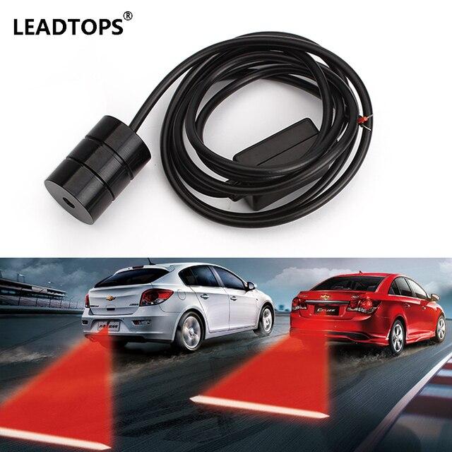 Warning Light Anti Collision Rear-end Car Laser Tail 12v Led car Fog Light Auto Brake auto Parking Lamp Rearing car styling CE