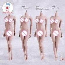 Phicen TBLeague 1 6 Scale Female Seamless Body Figure S01A S04B S07C S10D Pale Color Woman