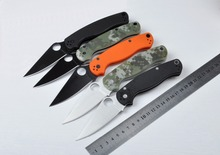 Top Quality Camping Knife AUS-8  58HRC  G10 Handle Folding Knife Outdoor Tool Survival Hunting Pocket Knife Gift