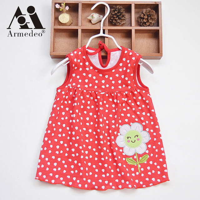 351646e1bdea Armedeo Top Quality Baby Dresses 2017 Princess 0-1years Girls Dress Cotton  Clothing Dress Summer Girls Clothes Low Price