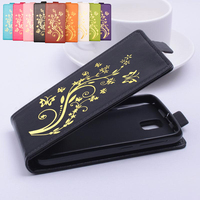 Gold Paillette High Quality Luxury Leather Case For Lenovo A328 A328t Case For Lenovos A 328