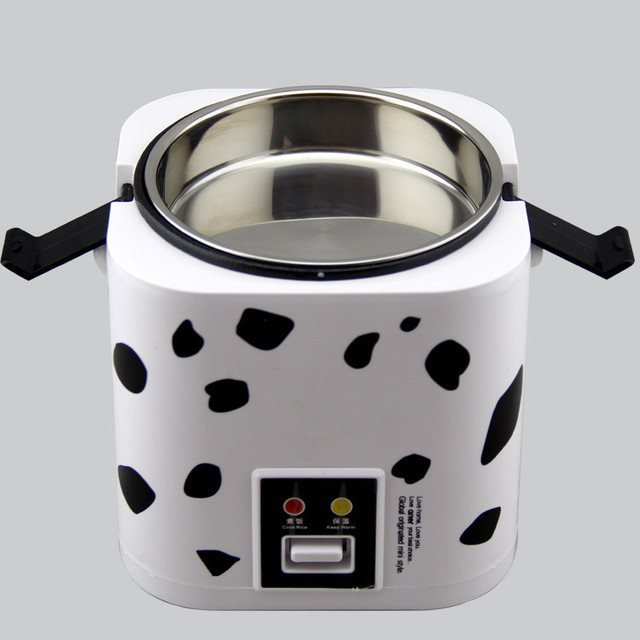 Low power 200W 1.2 L portable cooker 1-2 people mini rice cooker multi-function dormitory students electric rice cooker
