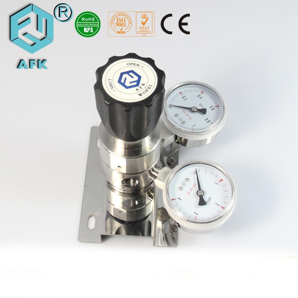 High Pressure Regulator : High pressure stainless steel quot npt nitrogen gas