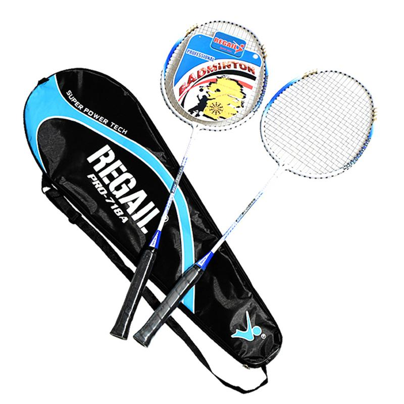 1 Pair Professional Badminton Rackets Light Weight Carbon Badminton Rackets Raquette De Badminton With Bag