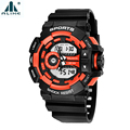 Swimming Watches Alike Brand Mens Waterproof Sports Waistwatch Multi-functional Luminous Watch Electronic with Compass