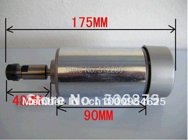 ФОТО CNC Motor Spindle motor 300W,DC motor, 300W Engraving machine spindle motor