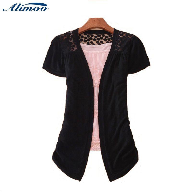 Online Buy Wholesale short sleeve crochete cardigan from China ...