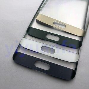 Image 4 - Чехол с полным корпусом, задняя крышка + стеклянный объектив переднего экрана + средняя рамка для Samsung Galaxy S6 Edge G925 G925F, полные детали