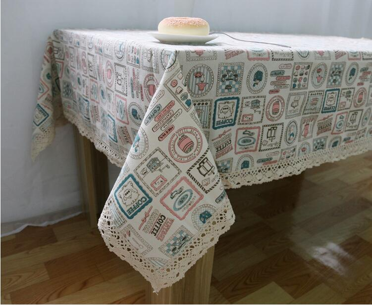 Hot Sale High Quality Small Kettle Tablecloth Hollow Lace Table Cloth For  Home Textile Linen Tablecloths