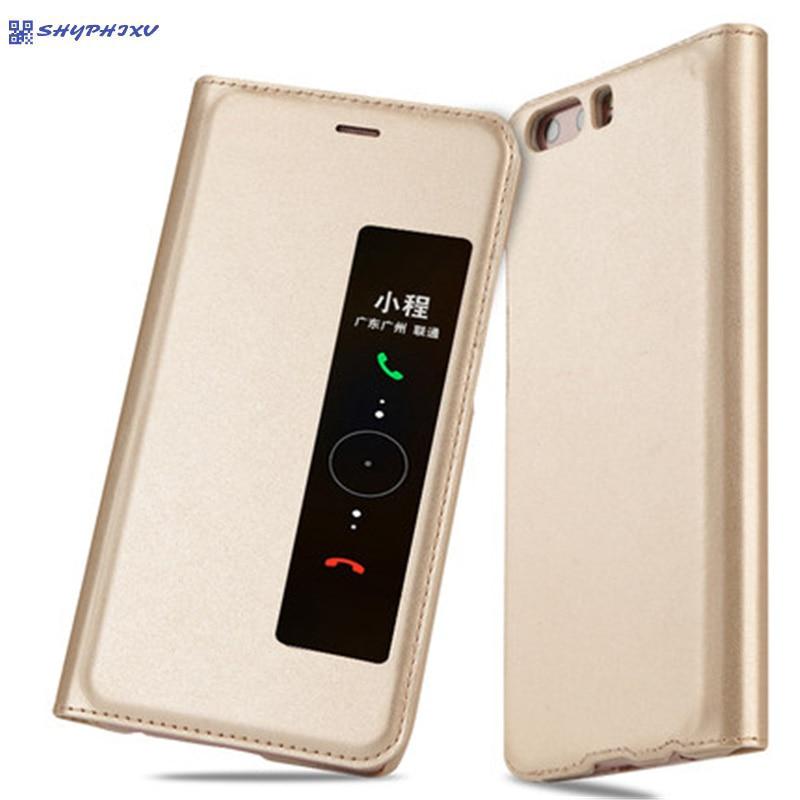 SHYPHIXV PU Flip Funda de cuero para Huawei P10 5.1 Inch Case con - Accesorios y repuestos para celulares - foto 1
