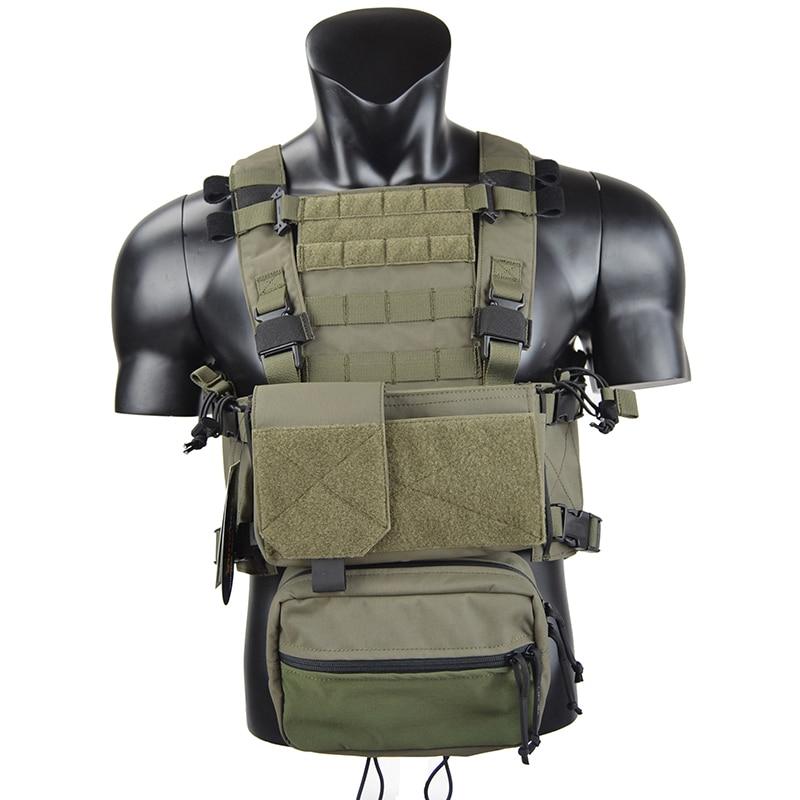 CQC MOLLE RRV Airsoft NEW MK3 MFC 2.0 Caixa Rig Militar Assalto do Combate Tactical Vest Polícia Body Armor Caça Colete TW-CR004