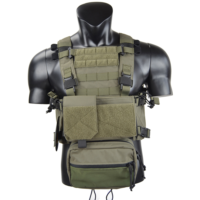 CQC RRV MOLLE Airsoft NEW MK3 MFC 2.0 Chest Rig Military Combat Assault Tactical Vest Police Body Armor Hunting Vest TW-CR004