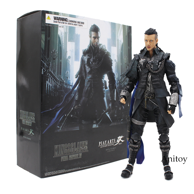 VARIANT Paly Arts KAI Final Fantasy XV 15 Kingsglaive Nyx Ulric PVC Action Figure Collectible Model Toy with Retail Box 26cm play arts kai final fantasy xv ignis scientia pvc action figure collectible model toy 26cm