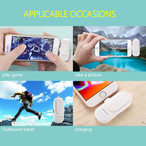 GARAS Magnetic Power Bank For iPhone/Micro USB/Type C 1000mAh Mini Magnet Charger Power Bank 18650 For iPhone/iPad/Xiaomi/LG Multan