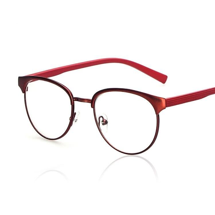 3d1738799 Frete grátis Multi Color armação de Metal leve nerd óculos ópticos  espetáculo quadro