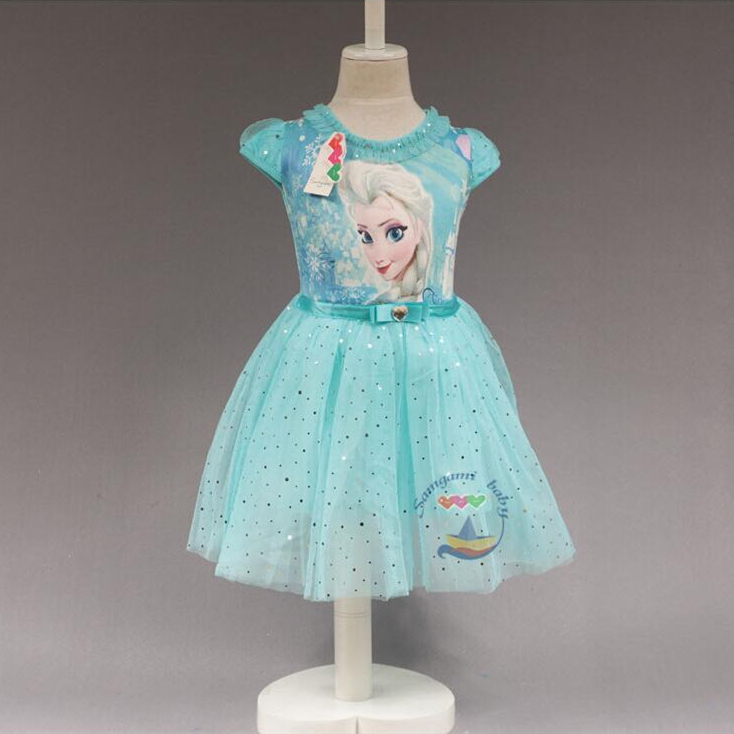 Princess Cinderella Girls Dress Snow White Kids Clothing Dress Rapunzel Aurora Children Cosplay Costume Clothes Age 2-10 Years 2017 rapunzel cosplay dress children girls long hair princess dress halloween costume clothes kids clothing with sleeves garland