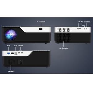 Image 5 - WZATCO M18 1920x1080P אנדרואיד 10.0 WIFI AC3 4K 200 אינץ מלא HD 1080P LED מקרן וידאו Proyector קולנוע ביתי 5500 לום