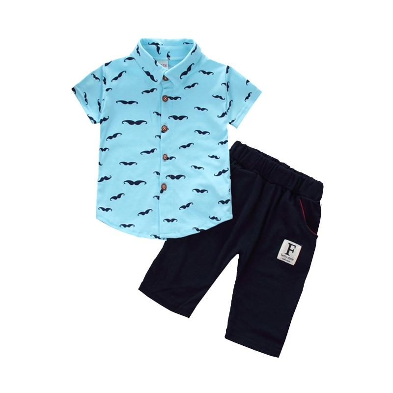 BibiCola baby boys summer clothes newborn children clothing