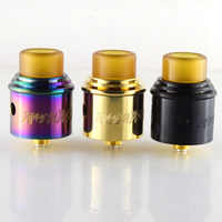 2pc Apocalypse GEN 2 RDA Atomizers e cigarette atomizer tank with wide Bore Drip Tip 24mm PEEK for Electronic Cigarette 510 wire