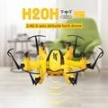 JJRC F19393 H20H 2.4G 4 Canais Giroscópio de Seis Eixos RC Hexacopter ORKUT Mini Drone Modo Headless CF Um Retorno Chave Flip 3D Altitude Hold