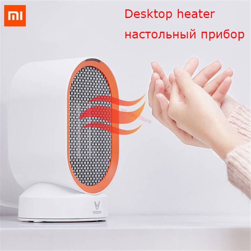 Xiaomi Viomi Electric Heater Mini Fan Heater Desktop hot Cold Wind Model Portable Desktop Warmer Machine